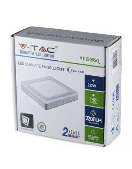 Żar. V-TAC 4W E14 T20 Fil. 2200K VT-2204