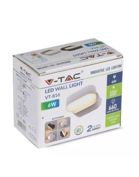 Proj. V-TAC 300W SAMS. Biały 6400K VT-300