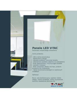 Proj. Solarny V-TAC 16W Floodlight 6000K VT-40W